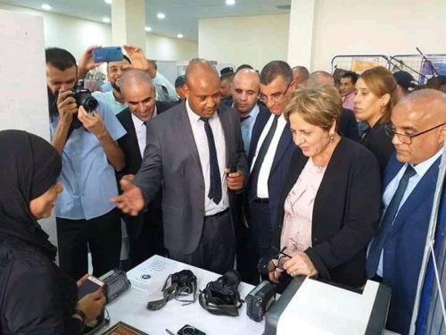 Ouargla: The Minister of National Solidarity Family and the Women Condition inaugurates the regional exhibition of micro business